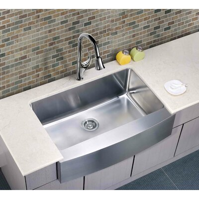 33 x 22.25 Under Mount Single Bowl Kitchen Sink