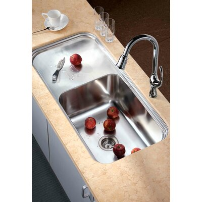41.38 x 19.75 Under Mount Single Bowl Kitchen Sink