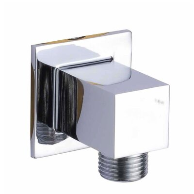 Wall Mount Supply Elbow Finish: Chrome