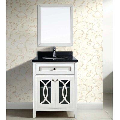 31 Single Vanity Set with Mirror