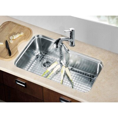 32.75 x 20.25 Under Mount Single Bowl Kitchen Sink