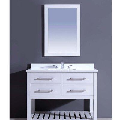Bohemian 42 Single Vanity Set with Mirror