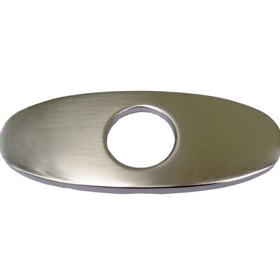 Escutcheon Plate Finish: Brushed Nickel
