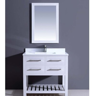 Bohemian 36 Single Vanity Set with Mirror