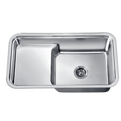 33 x 18.5 Under Mount Single Bowl Kitchen Sink