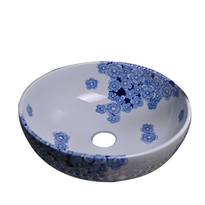 Ceramic Circular Vessel�Bathroom�Sink