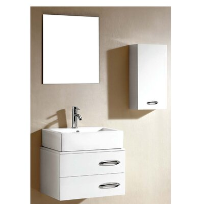 European 18 Single Vanity Set with Mirror