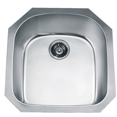 21.25 x 20.5 Under Mount Single Bowl Kitchen Sink
