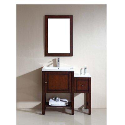 American 15 Single Vanity Set with Mirror