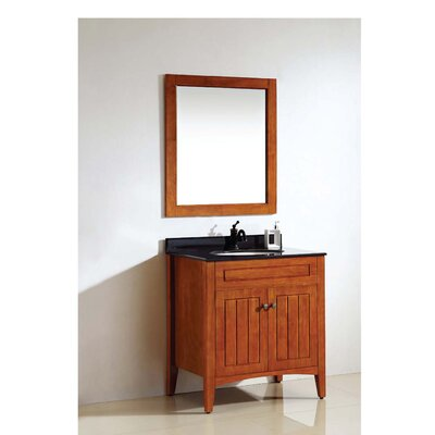 American 23 Single Vanity Set with Mirror