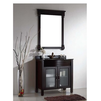 American 31.5 Single Vanity Set with Mirror