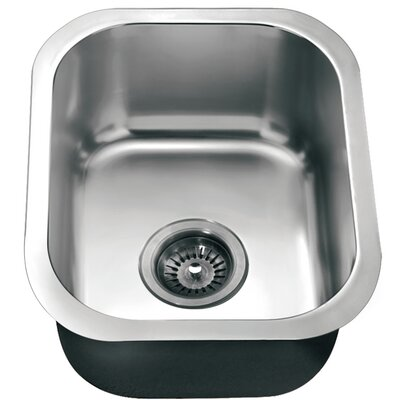 17 x 13.75 Under Mount Single Bowl Kitchen Sink