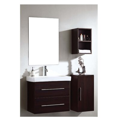 European 14 Single Vanity Set with Mirror