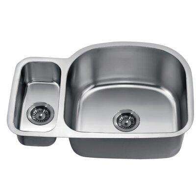 30 x 20 Under Mount Double Bowl Kitchen Sink