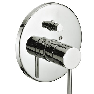 Pressure Balancing Diverter Valve Trim Finish: Brushed Nickel