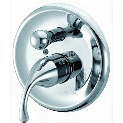 Pressure Balancing Diverter Valve Trim Finish: Chrome