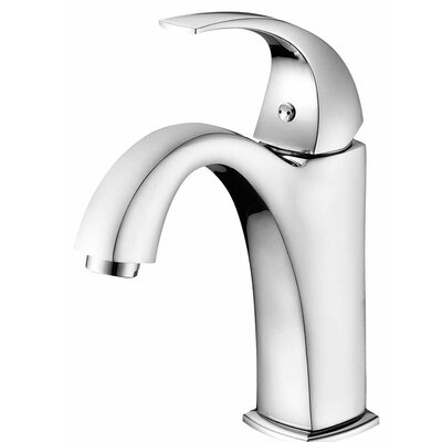 Single Handle Deck Mounted Faucet Finish: Chrome