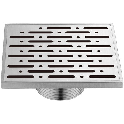 Rio Orinoco River Grid Shower Drain with Overflow