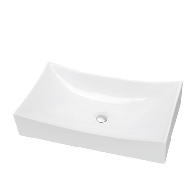Ceramic Square Vessel�Bathroom�Sink