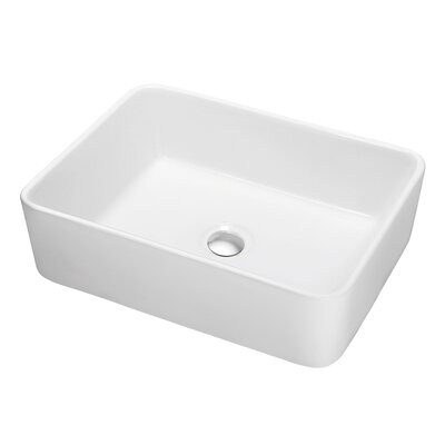 Ceramic Rectangular Vessel�Bathroom�Sink
