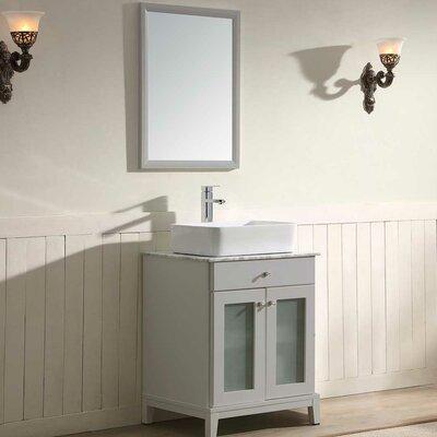 Julie 24 Single Vanity Set with Mirror