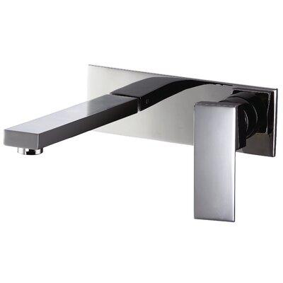 Wall Mounted Single Lever Bathroom Faucet Finish: Chrome