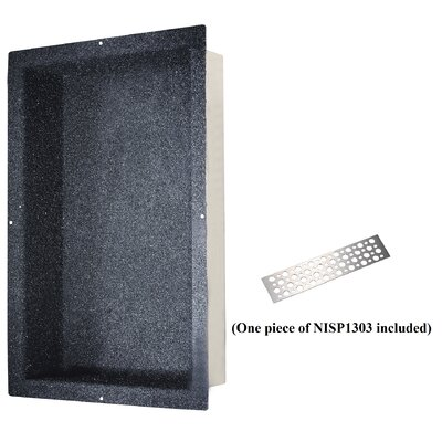 Shower Niche with Support Plate Size: 24 H x 14 W