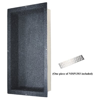 Shower Niche with Support Plate Size: 32 H x 14 W
