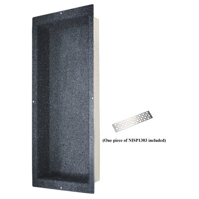 Shower Niche with Support Plate Size: 42 H x 14 W