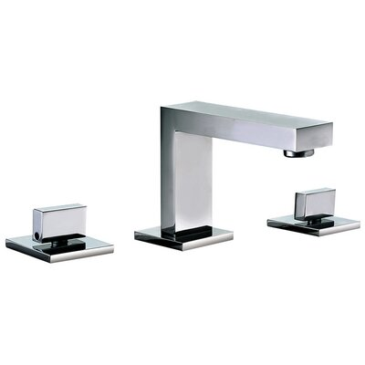 Widespread Lever Handle Bathroom Faucet Finish: Chrome