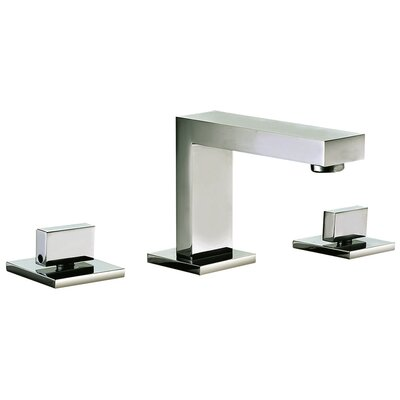 Widespread Lever Handle Bathroom Faucet Finish: Brushed Nickel