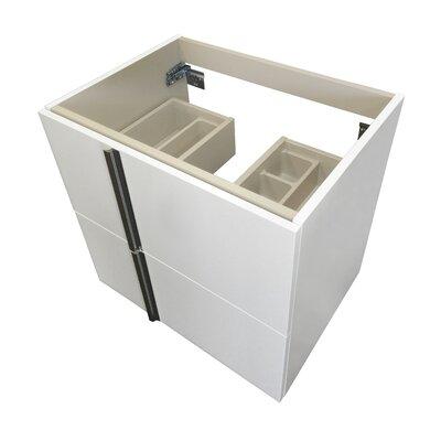 Onix Series 24 Single Bathroom Vanity Base Base Finish: White