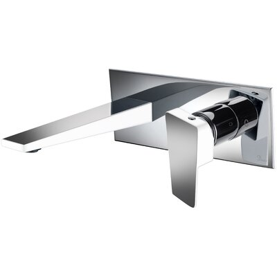 Wall Mounted Single Handle Bathroom Faucet