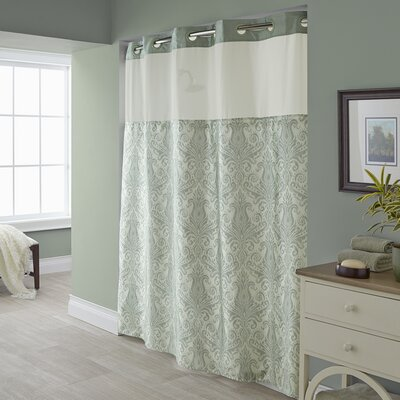 Square Tile Shower Curtain