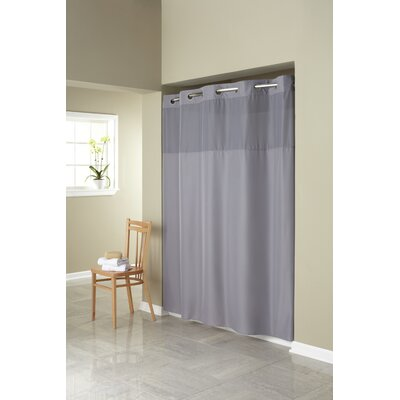 Mystery Shower Curtain Color: Frost Gray