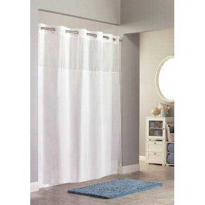 Mystery Shower Curtain Color: White