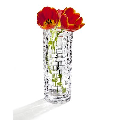 Charlize Weave Crystal Vase