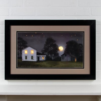 Lighted Matted Hot Summer Night by Billy Jacobs Framed Photographic Print 72278