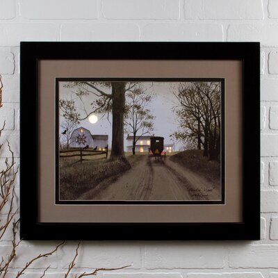 Lighted Matted Heading Home by Billy Jacobs Framed Photographic Print 72273