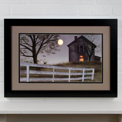 Lighted Matted Old House by Billy Jacobs Framed Photographic Print 72274