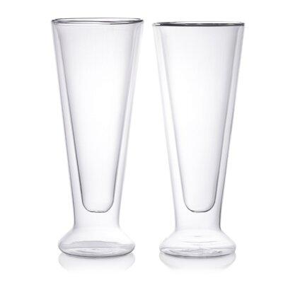 12 Oz. Double Wall Beer Glass EPDWG08