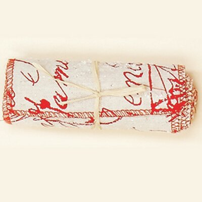 Christmas Linen Ribbon Roll (Set of 6)