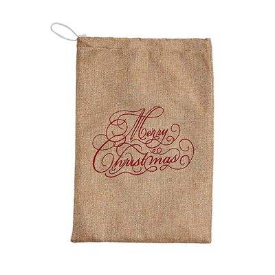 Merry Christmas Linen Bag (Set of 2)