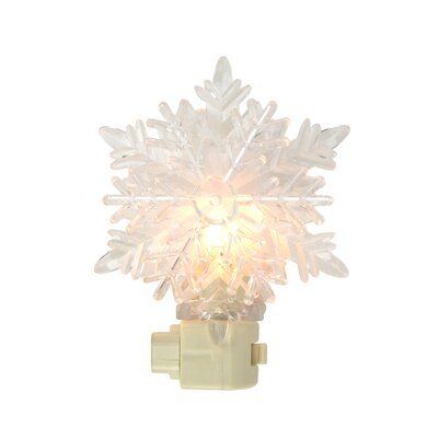 Icy Crystal Decorative Snowflake Night Light