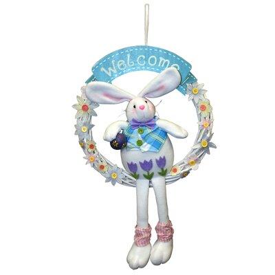 Welcome Bunny Wreath EF-2229