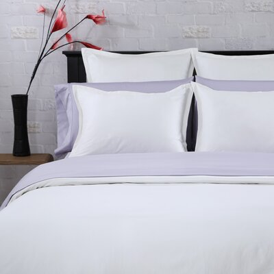 3 Piece Duvet Set Size: Full / Queen, Color: White