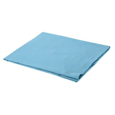 300 Thread Count Cotton Sateen Euro Sham Color: Turquoise