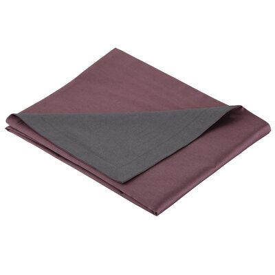 3 Piece Duvet Set Color: Plum, Size: King