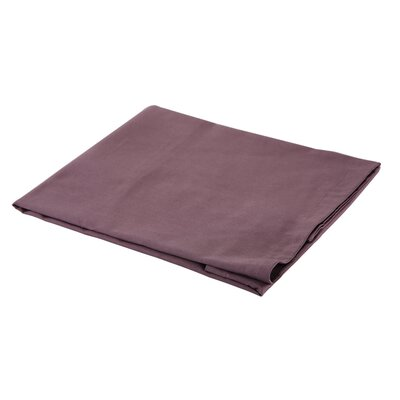 300 Thread Count Cotton Sateen Euro Sham Color: Plum