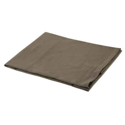 300 Thread Count Cotton Sateen Euro Sham Color: Mocha